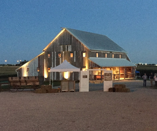 Warning: Beautiful Barn!!! -- a Look at Good Makers Market