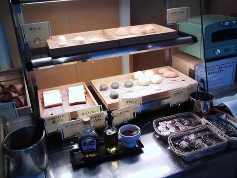 ビュッフェコーナー:パン1 オーセントホテル小樽カサブランカ