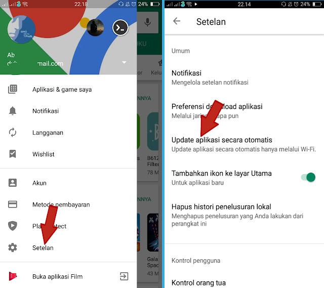 Cara Supaya Google Play Store Tidak Update Otomatis Di Android 3