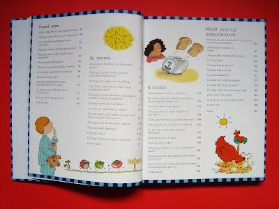 Dlaczego? Księga najlepszych pytań i odpowiedzi, książka dla przedszkolaka i starszaka, książka z rysunkami, spis treści