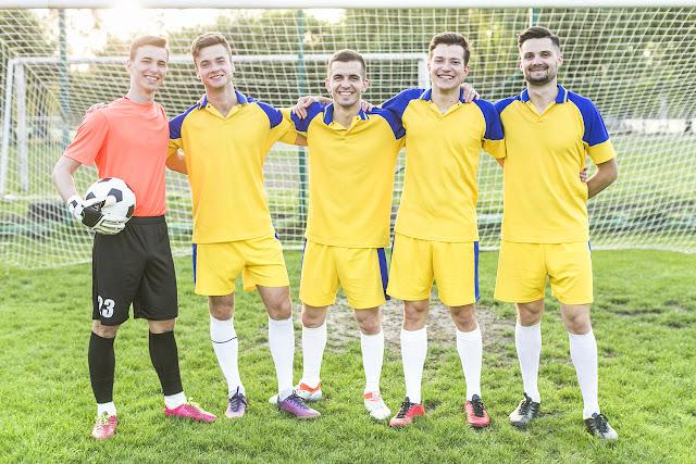 Gruppenfotos vom Sportverein gratis