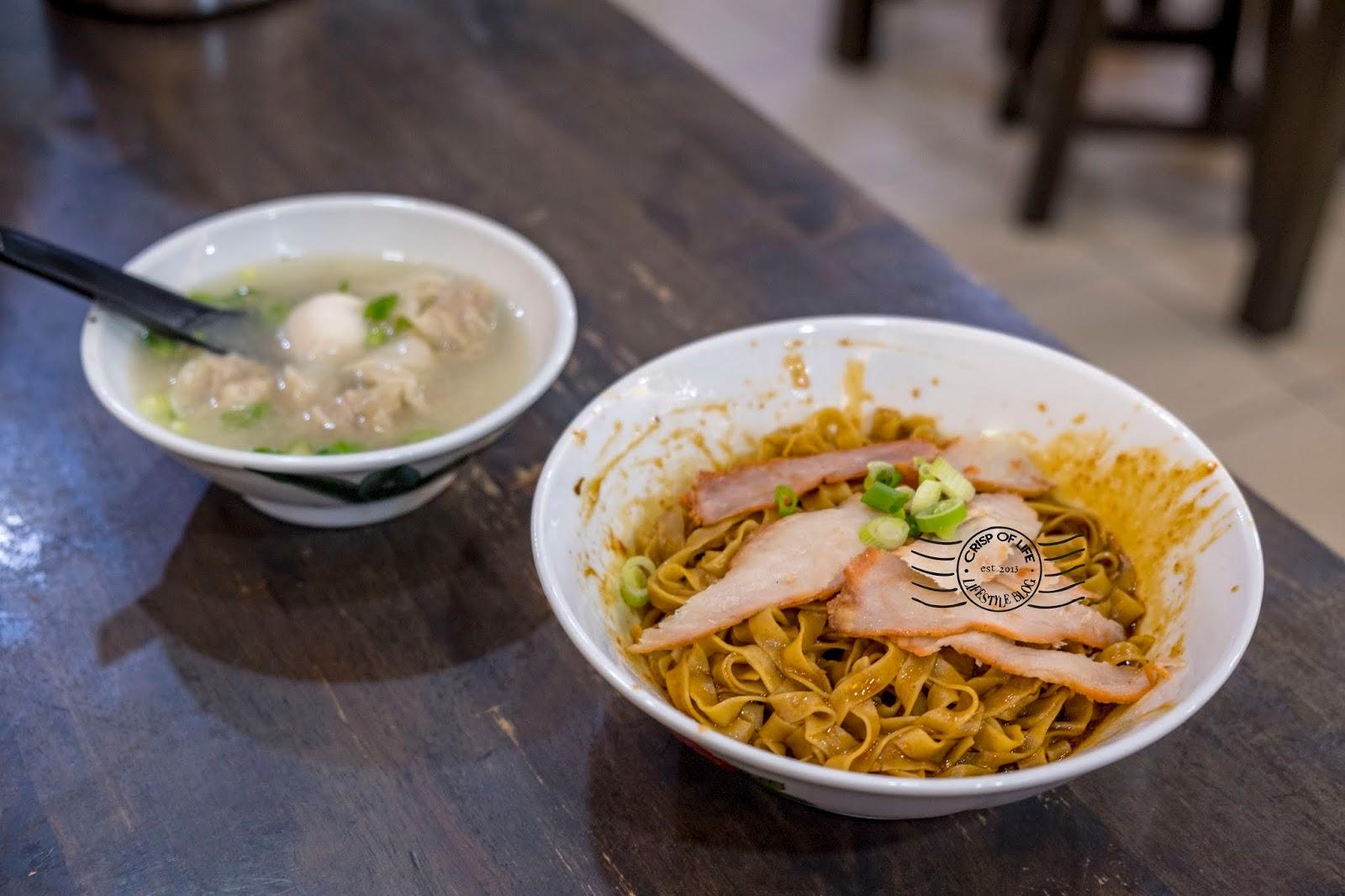 Chan SinKee Pontian Mee 陳新記笨珍雲吞麵 at Sunway Damansara, Petaling Jaya, Selangor
