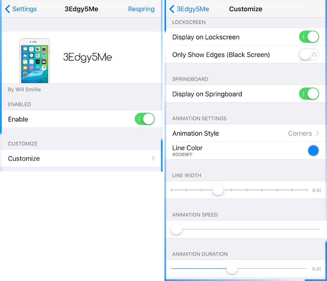 A very new jailbreak tweak called 3Edgy5Me is available in Cydia which brings Galaxy S8-inspired notification alerts on iPhone and iPad running iOS 10 & 9