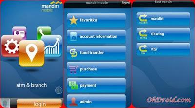 Aplikasi Mandiri Mobile Banking Android