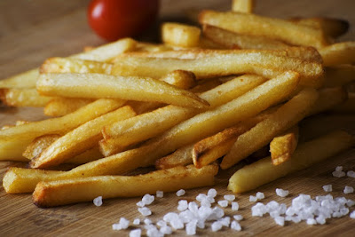 FRENCH FRIES, ENJOYMENT BUT NOT HEALTHY