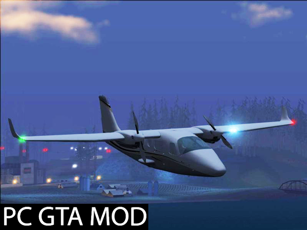 Free Download Tecnam P2006T NEW Updated  Mod for GTA San Andrea