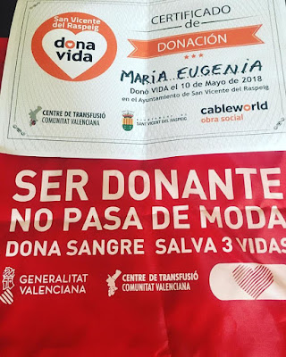 Dona Sangre, Dona Médula, San Vicente del Raspeig, Solo Yo,