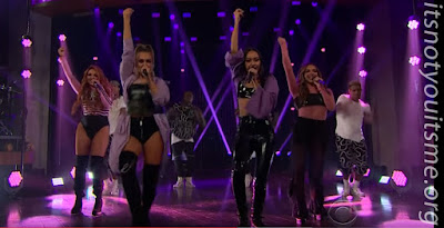 Little Mix Perform Touch on Corden