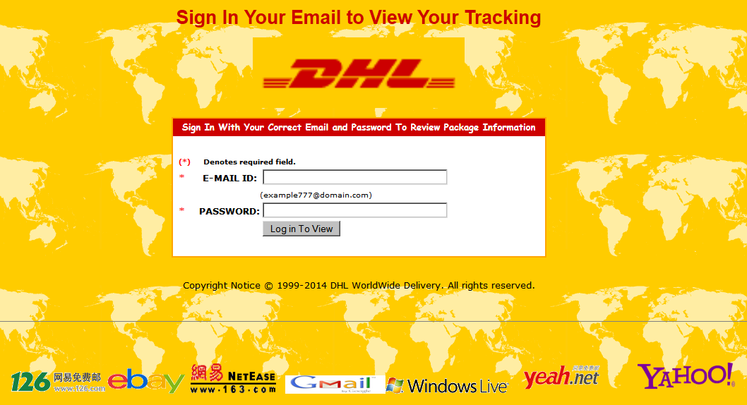 SPAM frauds, fakes, and other MALWARE deliveries