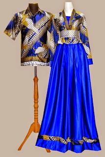 Model Baju Gamis Batik Bolero