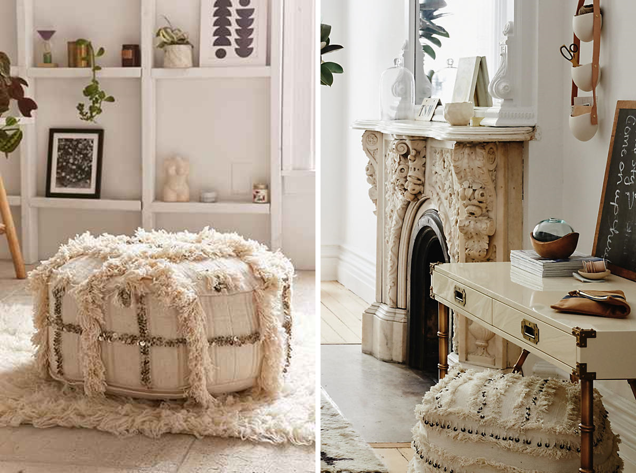 Wondrous My Search For The Perfect Boho Pouf Boho Home Uwap Interior Chair Design Uwaporg