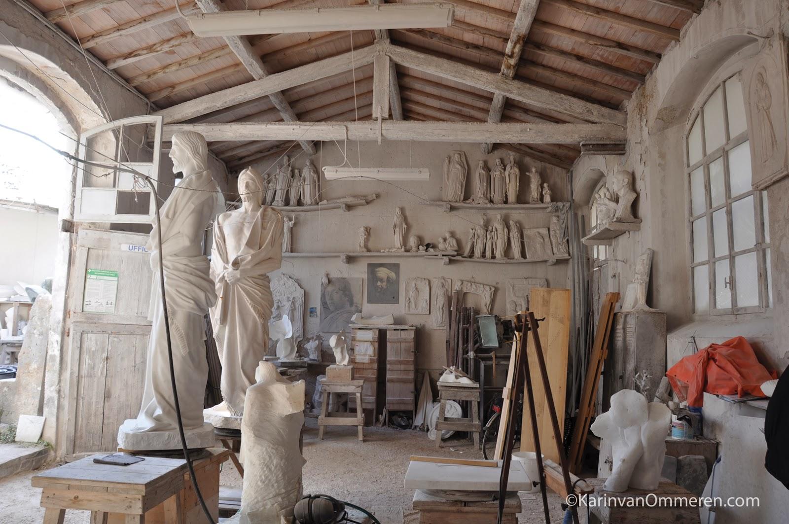 David Foster The Sculptor S La Vita Italiana Haerr