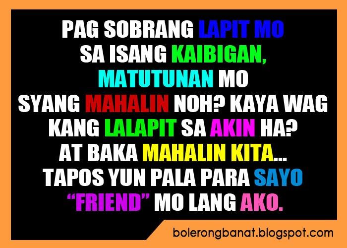 Kaibigan Sa Quotes Na Para Tunay Tagalog
