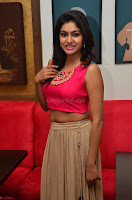 Akshita super cute Pink Choli at south indian thalis and filmy breakfast in Filmy Junction inaguration by Gopichand ~  Exclusive 059.JPG