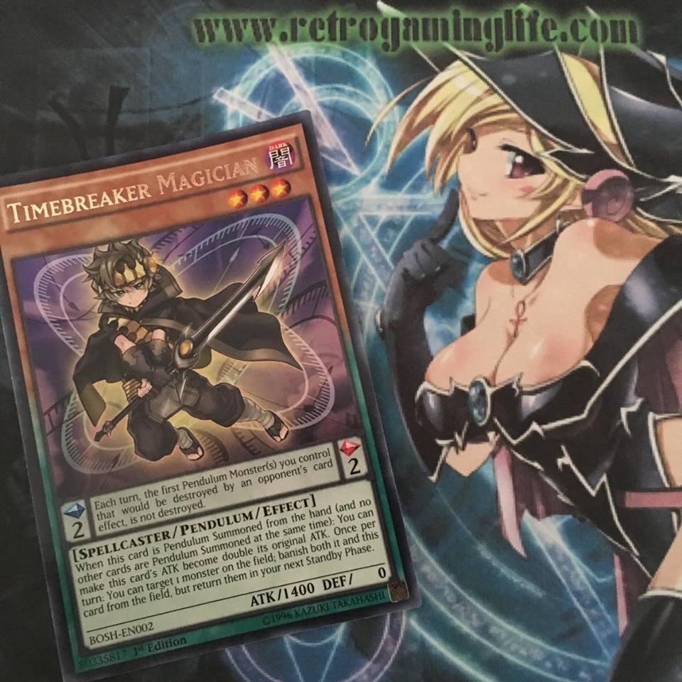 yu gi oh card of the week 039 timebreaker magician