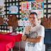 Artista plástico Ery Nunes é homenageado por crianças em creche da Capital