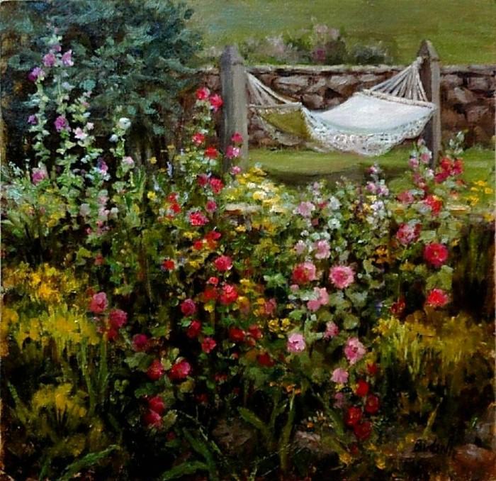 Цветочные картины. Stephanie Birdsall 17