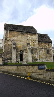 Saxon Church of St Laurence in Bradford-on-Avon