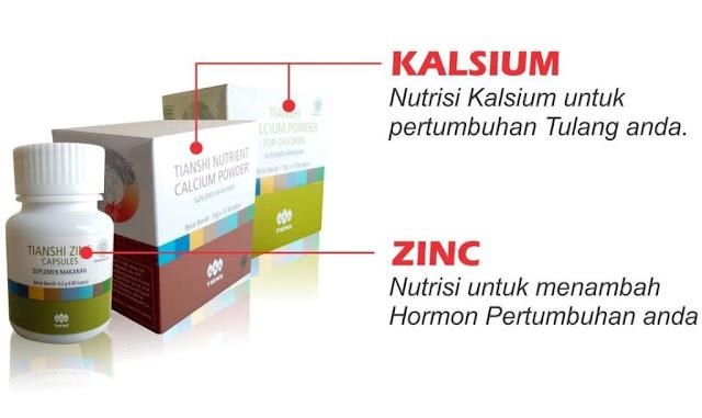 harga paketan kalsium peninggi badan tiens
