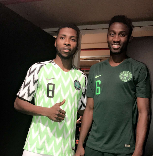 c0a3c4ed6c3 Football fans have rushed to social media to show their love for Nigeria's  2018 World Cup kit. It comes after Nike released the kits set to be dawned  by the ...