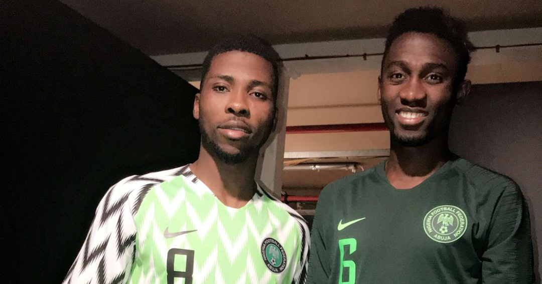 6b67fbdcef0 Twitter Reactions  Mixed Feelings As Fans React To Super Eagles Kits For  Russia 2018