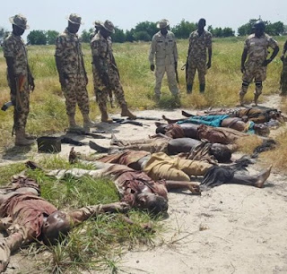 Army Kill 22 B'Haram Fighters In Sunday Reprisal Attack At Logomani; See Photos