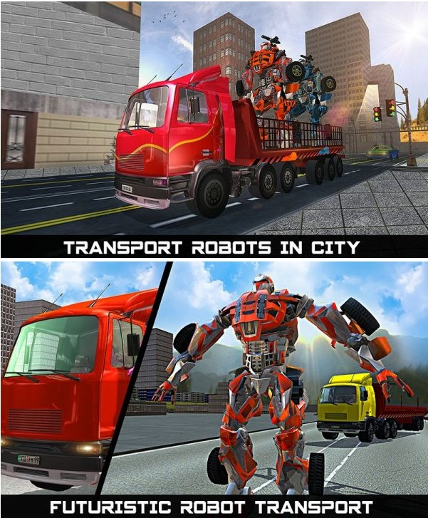 Car Robot Transport Truck Mod Apk v1.1 (Unlocked)