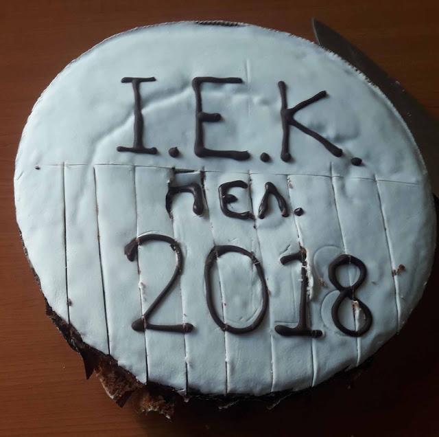 Η Τουριστική Σχολή ΙΕΚ Πελοποννήσου στο Άργος έκοψε την Πρωτοχρονιάτικη πίτα