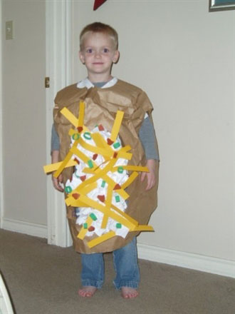 Loaded Baked Potato Costume
