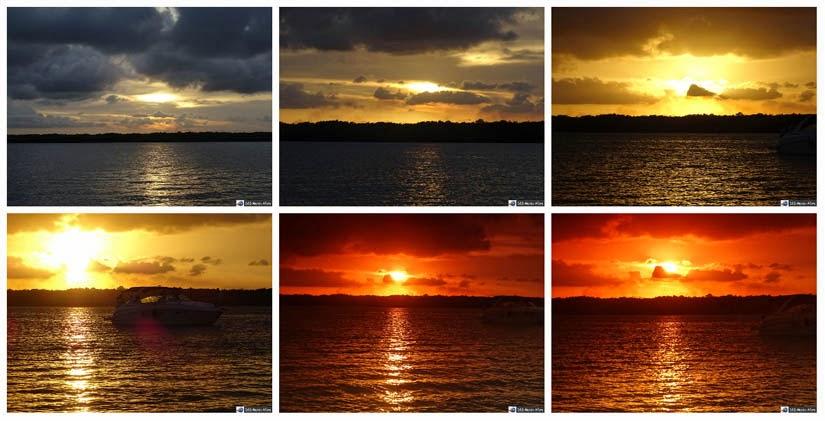 Pôr do sol na Praia do Jacaré - Cabedelo - Paraíba