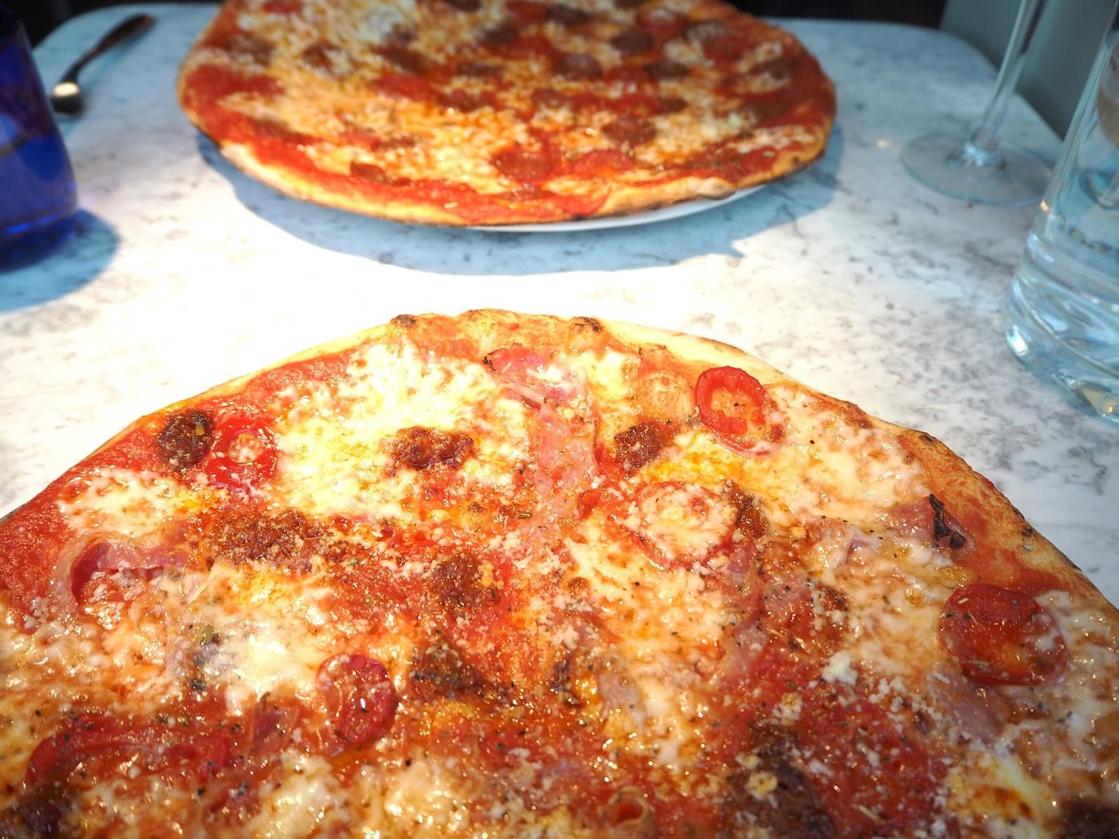 Pizza Express Etna Romana Pizza