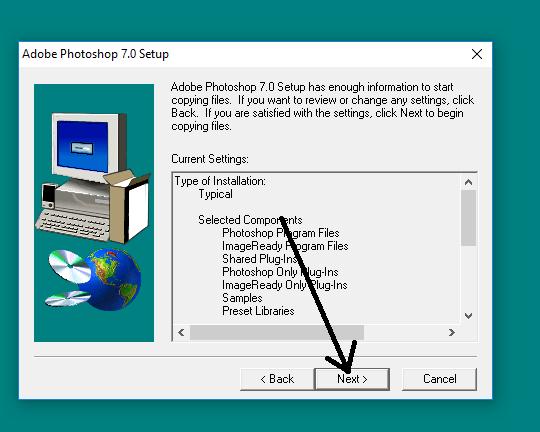 تحميل  النسخة القديمة للفوتوشوب وتفيعيلها وهو مناسبة لجميع تحديثات الوينداوز  Photoshop is fast
