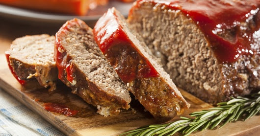Meatloaf ~ Recipes by Nana