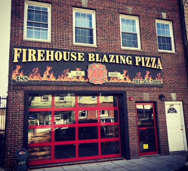 Jersey City Eats: Community News: Firehouse Pizza Now Open