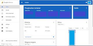 Kini Tampilan Akun Google AdSense Telah Berubah Lebih Simple