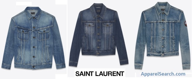 Saint Laurent Denim Jackets