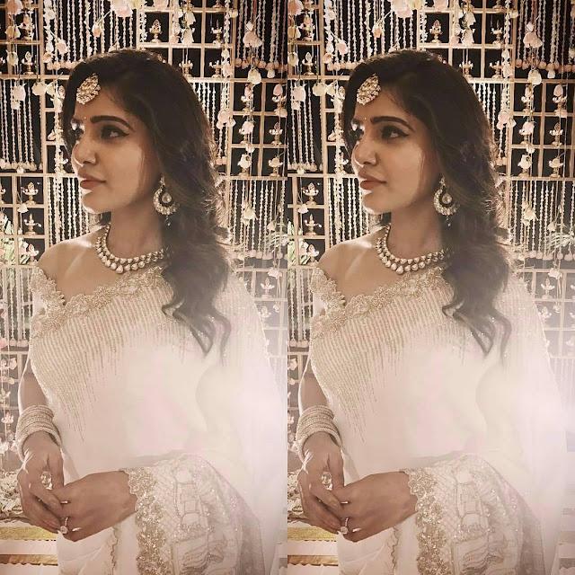 Samantha and Naga Chaitanya Engagement Photos
