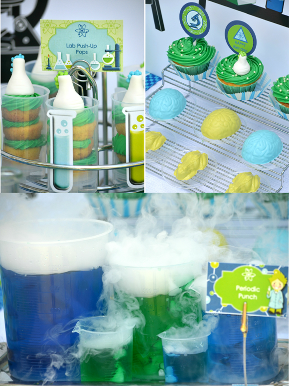 Mad Scientist Party Food Ideas
