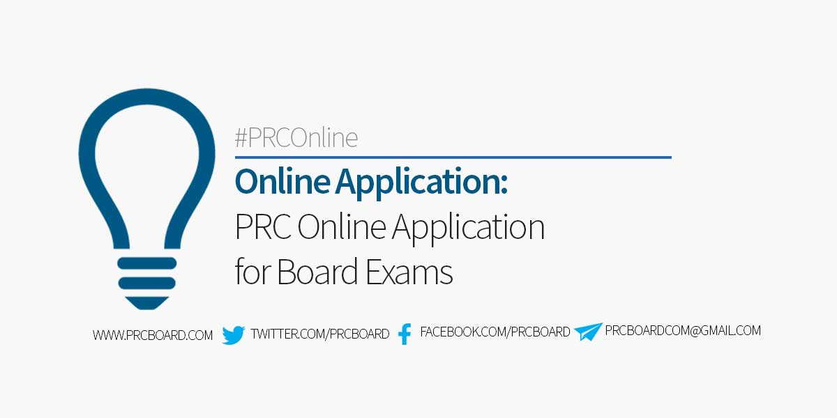 EASY GUIDE: PRC Online Application for Board Examination