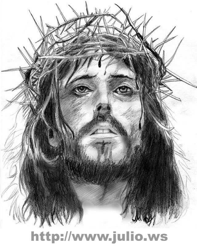 19 Gambar Yesus Hitam Putih Cari Gambar Keren Hd