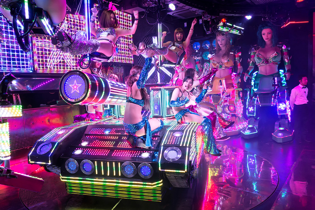 JULIANA: Wacky upskirt japanese show