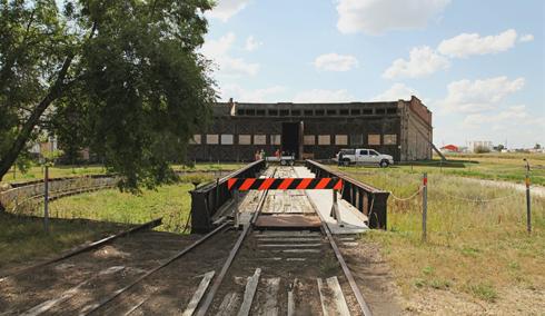 Hanna Alberta CN Rail Roundhouse