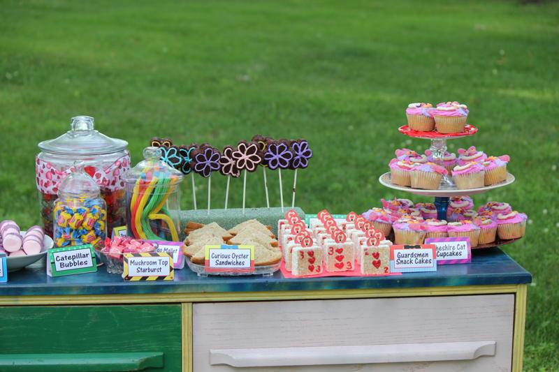 Diy Party Mom Alice In Wonderland Birthday Party