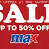 MAX Fashion Kuwait - SALE Upto 50% OFF