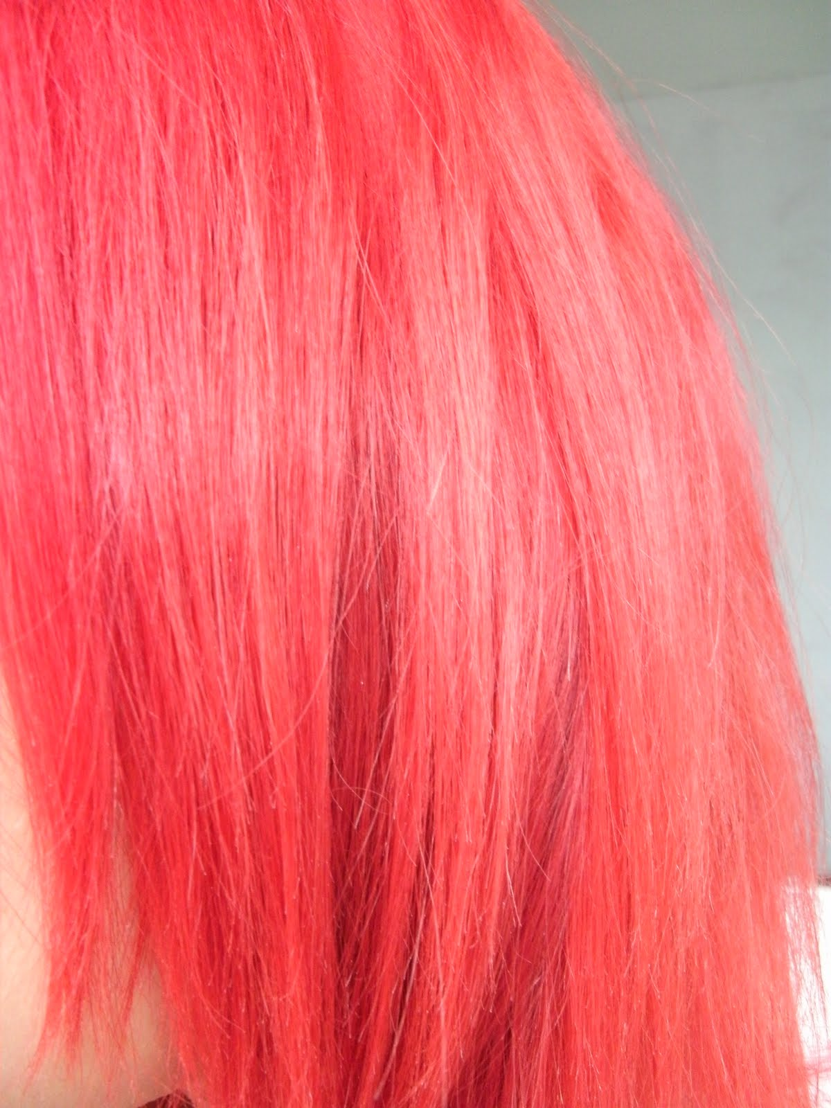 Highlight Hair Colour Loreal Majicontrast Magenta Red