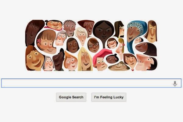 Google Doodle for International Women's Day 2013