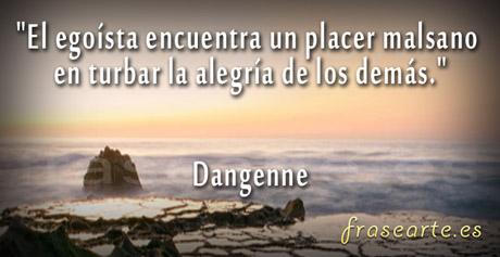 Citas para egoistas, Dangenne