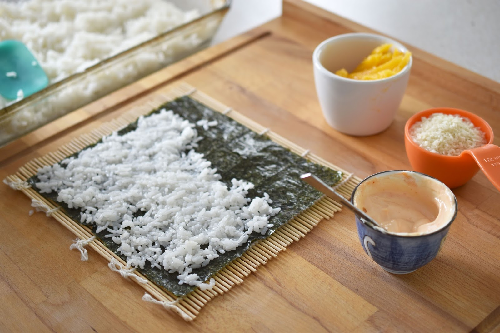 Ideally You Should Make The Sushi Rice A Bit Earlier In The Day To Let It  Cool, But You Can Also Spread It Out In A Baking Dish Postcooking And Mix  It