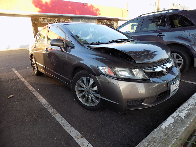 2011 Honda Civic before collision repairs at Almost Everything Auto Body.