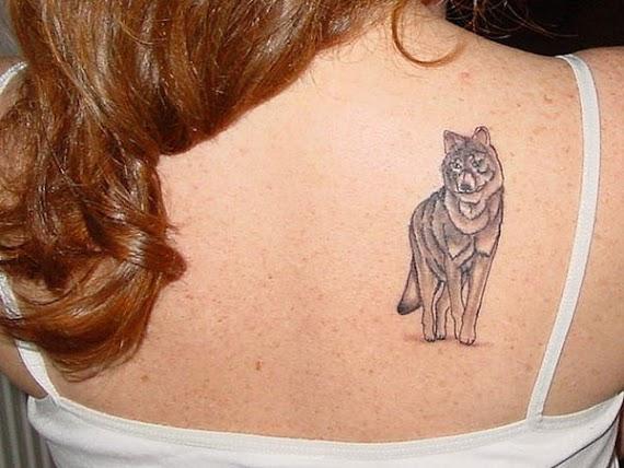 Tatuaje De Lobo Para Mujer
